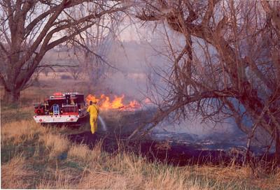 Parker Brush Fire