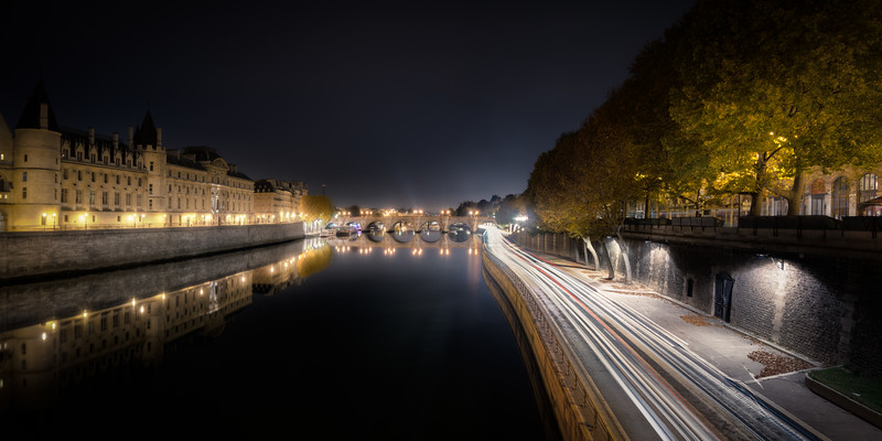 Reflections in the Seine