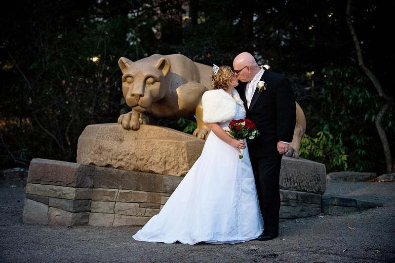 Williamsport Wedding Photographer : 12/9/17 Clarisa and Michael