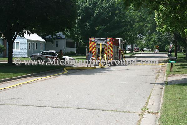 6/26/11 - Mason garage fire, 130 Rayner