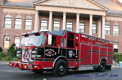 Port Chester N.Y. Fire Patrol Rescue Co. 40
