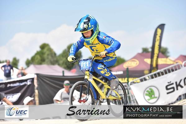 UEC Sarrians -13yr (kwart, halve en Finale)