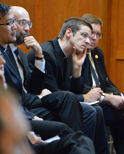 SHSST seminarians listen to the archbishop