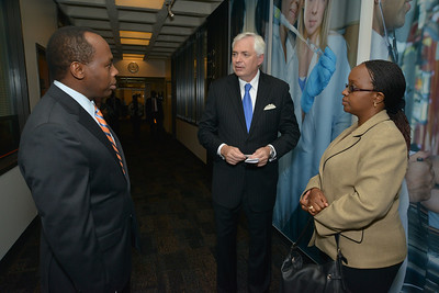 2014 Rwandan President Visits Business School
