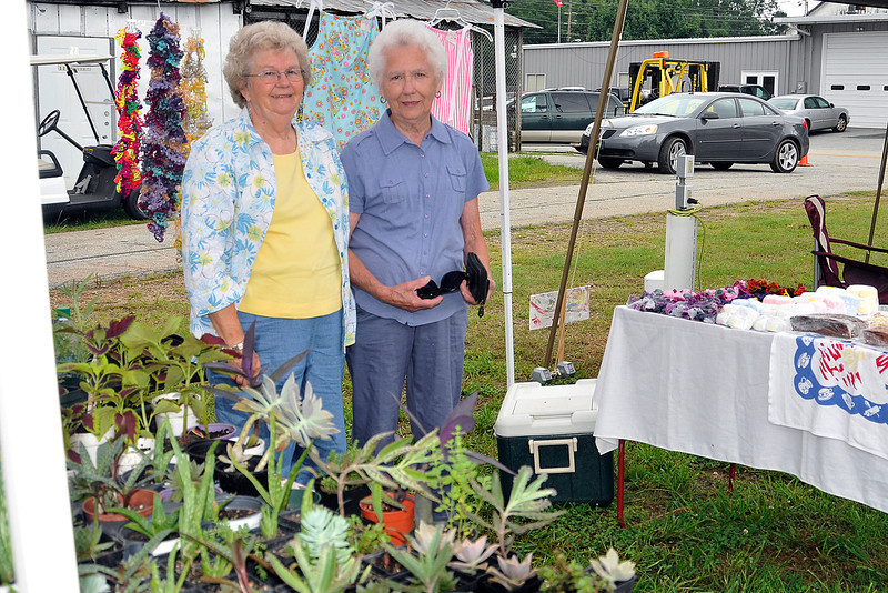 July 2013 Market Day in Yatesville