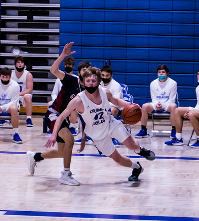 3/13/21 Boys Basketball Columbia over Gibault