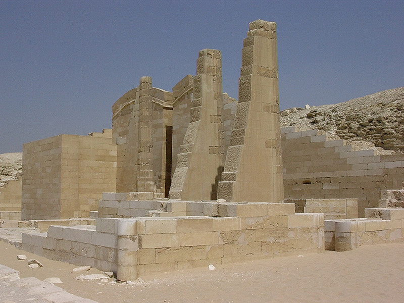 Djosers gravkompleks (Foto: Ståle)