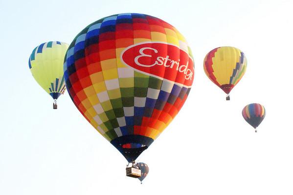 Balloon Race State Fair 2009