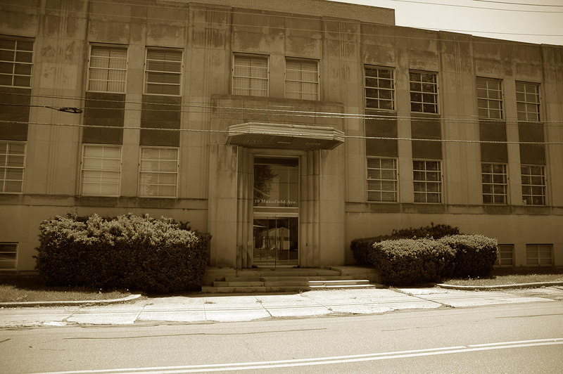 """Old """"Shelby Mutual"""" building.  For Sale"""