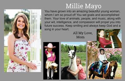 Millie Mayo 2019