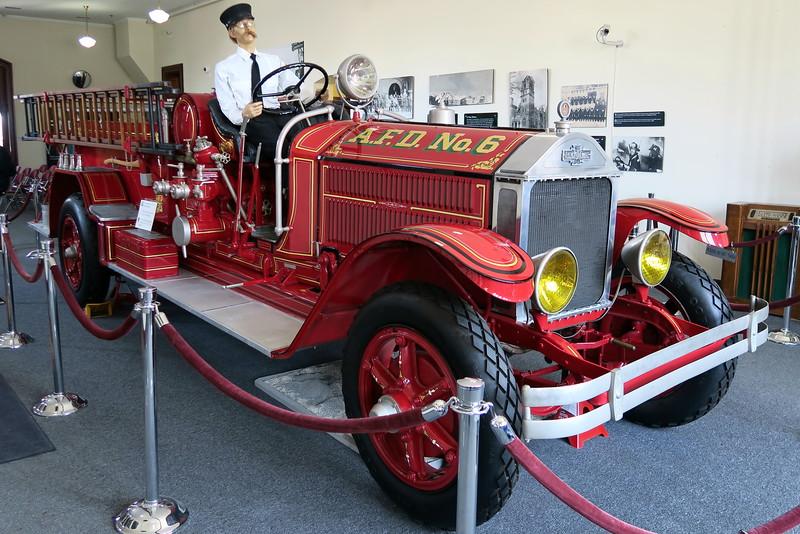 Historic Fire Station #6 - Interior