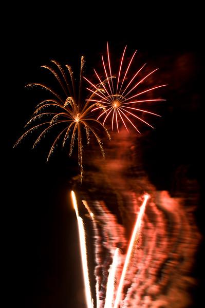 Fireworks in Port Gamble, Wa.