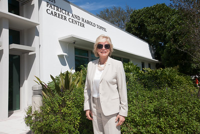 Patricia & Harold Toppel Career Center Dedication - February 7, 2014