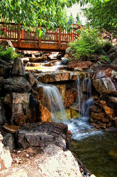 Colorado - Betty Ford Alpine Gardens - Water Features