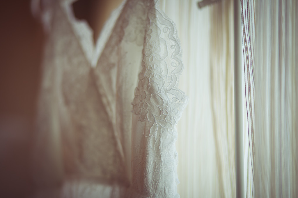 The beauty is in the details. Boho wedding dress from Free People