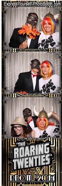 """The Roaring Twenties"" Prom 2014"