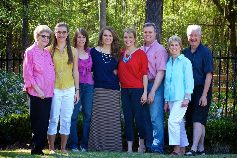 Georgia Portrait: L to R; Jane, Taylor, Dawn, Janea, Debbie, Michael, Donna, Jay