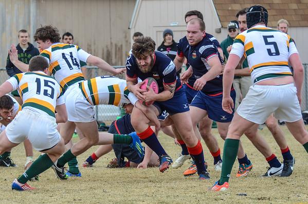 "Boulder Men ""A"" vs CSU Rams - Rugby - 02/14/15"