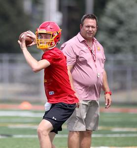 Batavia High School Football Practice