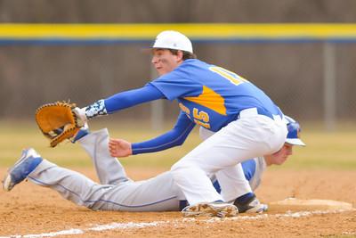 Varsity Baseball Blue Gold Scrimmage 2016