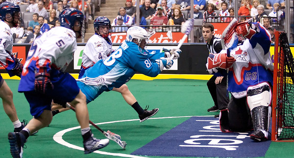 Rochester Knighthawks @ Toronto Rock 12 May 2012 East Final