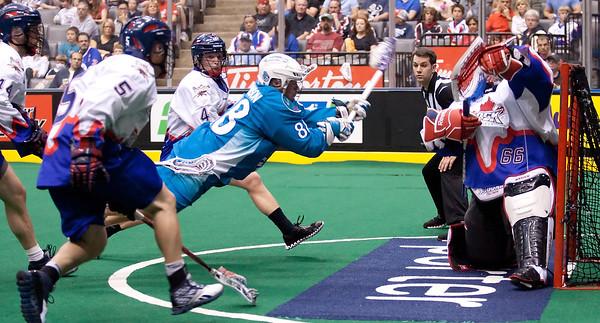 Rochester Knighthawks @ Toronto Rock 12 May 2012 East Final