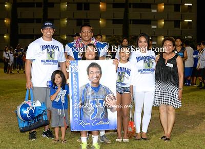 09-19-14 Moanalua Boys Varsity Football vs Aiea Na Alii and Senior Night (42-30) Video on Youtube:  http://youtu.be/__NteDL3bsk