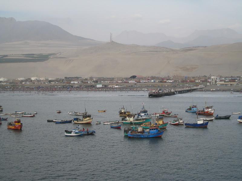 Port of Salverry, Peru