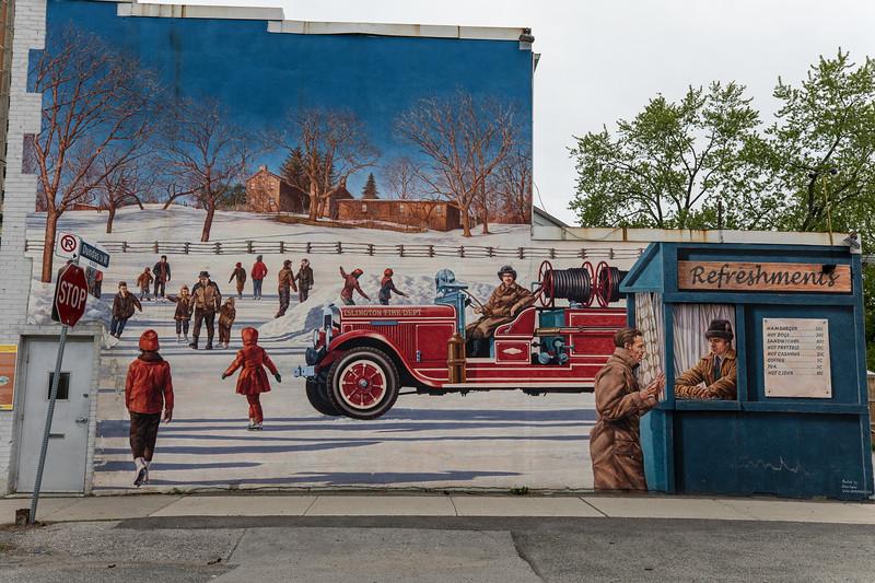 """Honouring Islington's Volunteer Fire Brigade"""