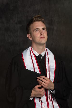 Austin's Graduation Photos sized for social media