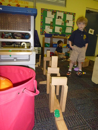 PreK Week 10 States of matter, plasma ball, Sir Isaac Newton's first law of motion - egg drop experiment, and the hoop and hex nut, introduction to ramp