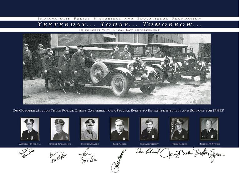 11x14 Chief Signature Poster