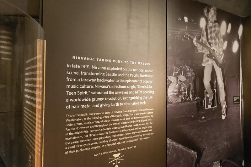 Ein anderer berühmter Sohn der Stadt: Kurt Cobain. Wie Hendrix ist er mit 27 Jahren verstorben.