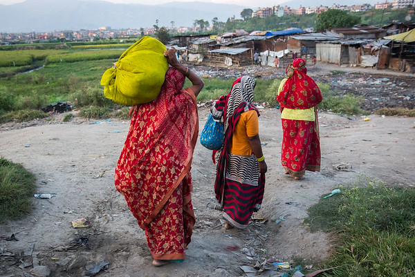 Nepalese Women at Work