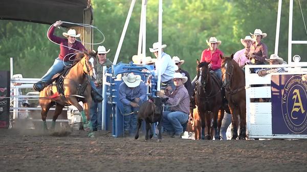 Breakaway Roping Saturday Night Blue Ridge Rodeo