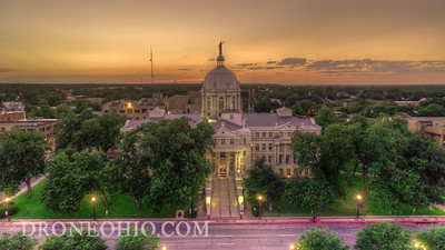 WACO TEXAS AT SUNSET