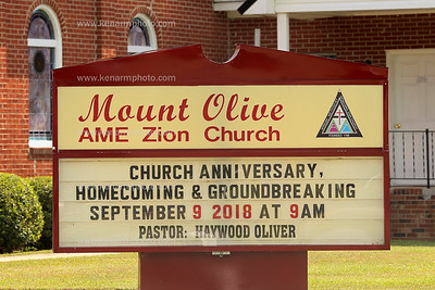 Mount Olive AME Zion Groundbreaking