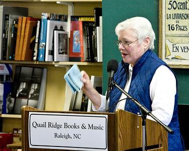 Barbara Brown Taylor at Quail Ridge Books, Raleigh NC -  February 27, 2010
