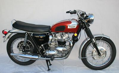 1969 Triumph Bonneville T120R (Turner)  sold to ?