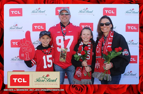 1-1-19 Rose Bowl Game Fan Fest - Sponsored by TCL