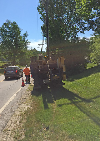 Main Street Water Pipe Replacement 2016