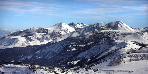Mammoth Mountain Panoramas, Images and Video