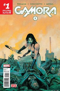 Gamora #1 coming to digital and comic book stores everywhere Dec. 21st.