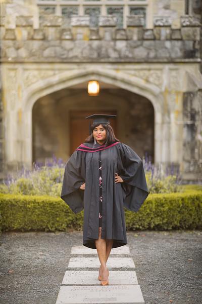 Funmilade Adenlu - Graduation Photo | Royal Roads University - Victoria BC