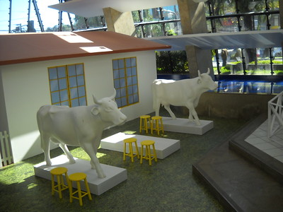 Public Painting Studio and Cow Hospital