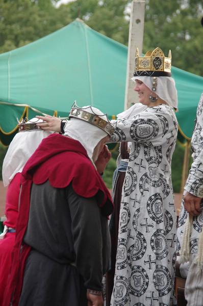 crowning of Prince Wulfstan & Princess Thorkatla