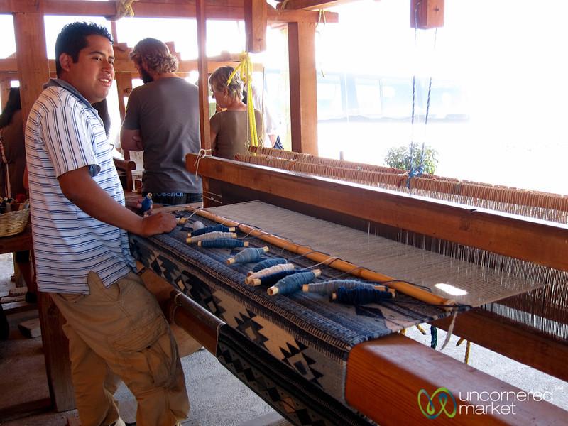 Weaving in Teotitlán del Valle - Oaxaca, Mexico