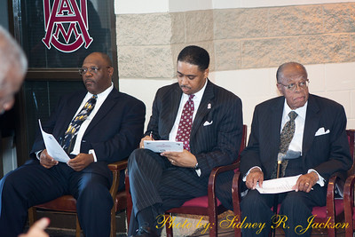 AAMU 2012 Football Louis Crews Classic Unveiling of the LC Bust