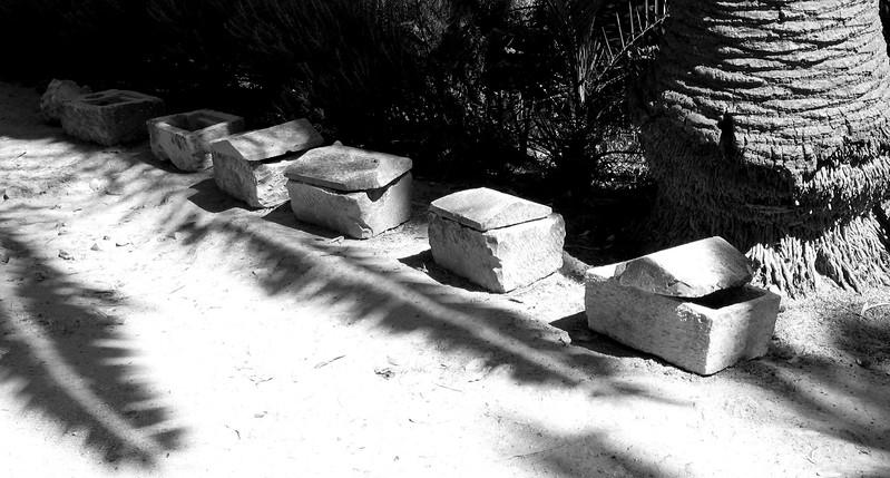 Antoine Baths coffins