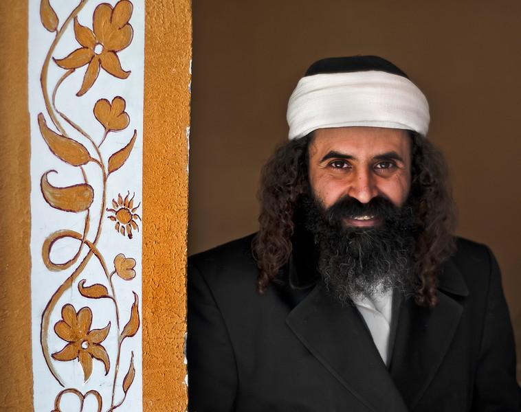 Yemeni Jewish man.  Tfat, Israel, 2012.